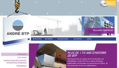 Site internet de Andre Btp