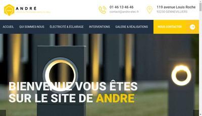 Site internet de Lumiere et Matiere