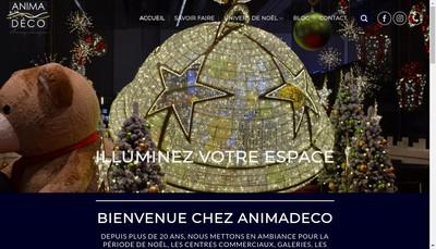 Site internet de Animadeco