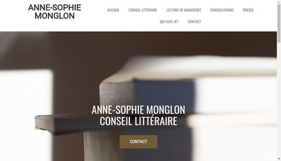 Site internet de Anne-Sophie Monglon