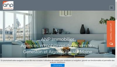 Site internet de Anp Immobilier
