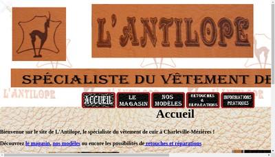 Site internet de L'Antilope