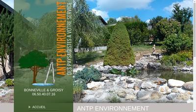 Site internet de Antp Environnement