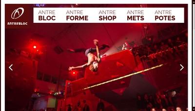 Site internet de Antrebloc