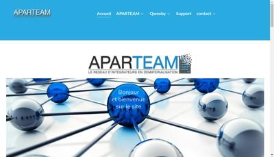 Site internet de APARTEAM