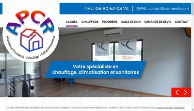 Site internet de APCR