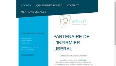Site internet de @Perf