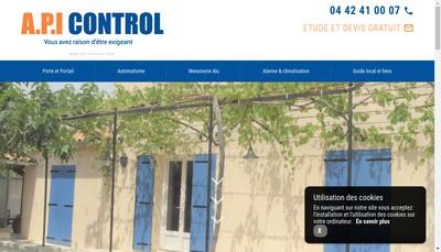 Site internet de Api Control