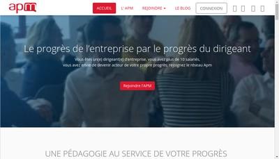 Site internet de Association Progres du Management