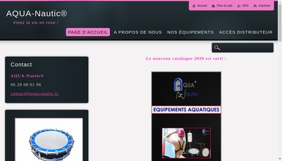 Site internet de Aqua-Nautic