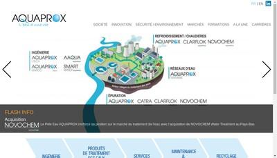 Site internet de Aquaprox SAS