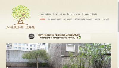 Site internet de SARL Arboriflore