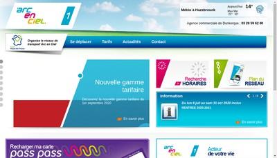 Site internet de Arc en Ciel