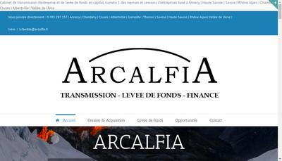 Site internet de Arcalfia
