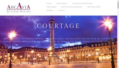 Site internet de Arcavia