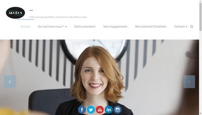 Site internet de Arcéos