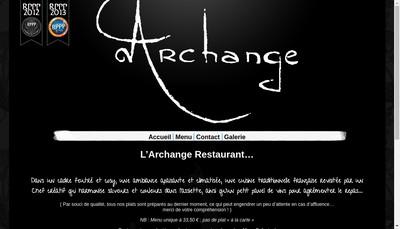 Site internet de Archange