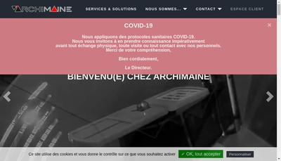 Site internet de Archimaine