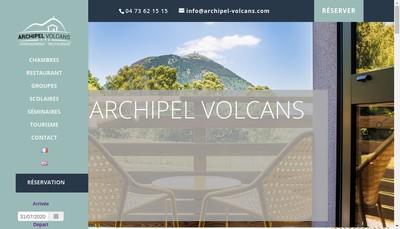 Site internet de Archipel Volcans