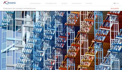 Site internet de Arcora