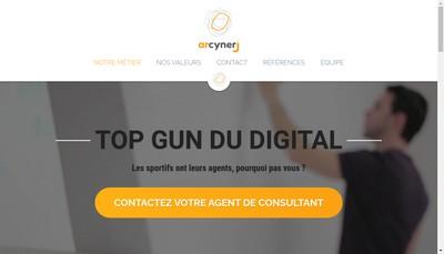 Site internet de Arcynerj