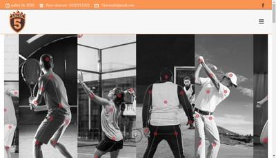 Site internet de Arena Five