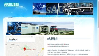 Site internet de Areussi