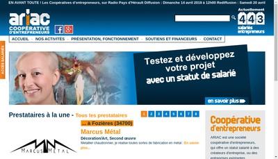 Site internet de Ariac