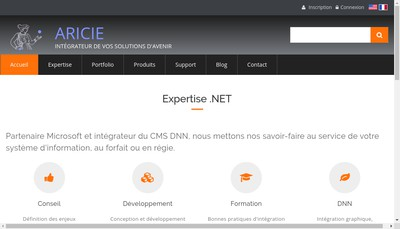 Site internet de Aricie