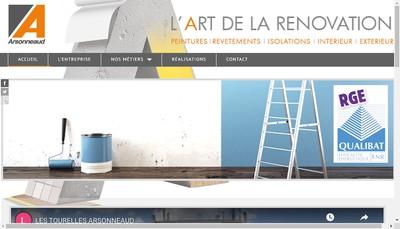 Site internet de Arsonneaud SAS