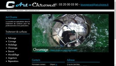 Site internet de Art-Chrome