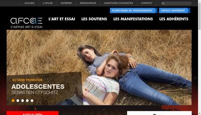 Site internet de Art et Essai