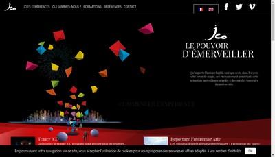 Site internet de Jacques Couturier Organisation