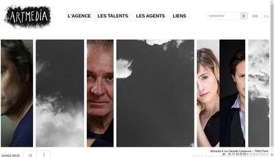 Site internet de Artmedia SA