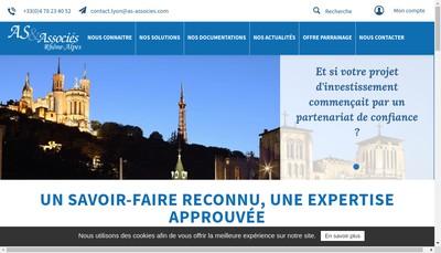 Site internet de As & Associes Audit et Solutions