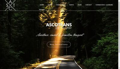 Site internet de Ascotrans