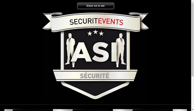 Site internet de Asi Securitevents