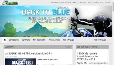 Site internet de As Motos