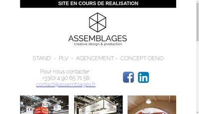 Site internet de Assemblages