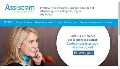 Site internet de Assiscom