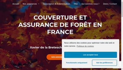Site internet de Xlb Assurances