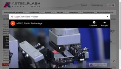 Site internet de Asteelflash Technologie