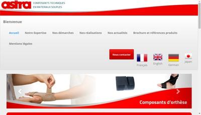 Site internet de Astra Production
