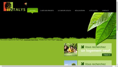 Site internet de Atalyse