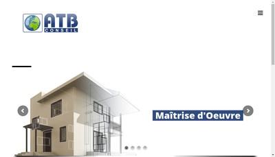 Site internet de Atb Conseil