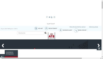 Site internet de Atb Services