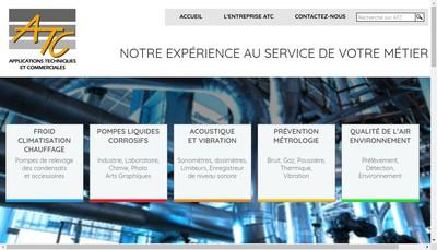 Site internet de Applications Techniques et Commerciales