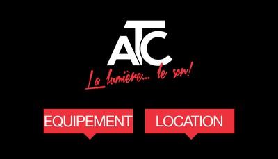 Site internet de 1)Atc Location Equipement - 2)Atc Evenements
