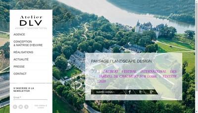 Site internet de Atelier Dlv