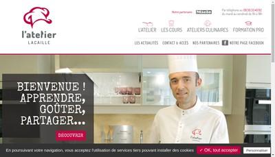 Site internet de Lacaille Formation et Conseils